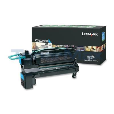 LEXMARK C792 PRINT CART CYAN RP 6K